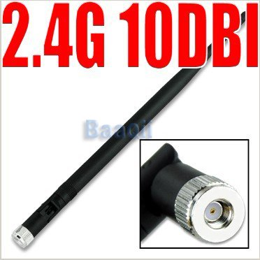 ルーター USB モデム 2.4G 10 dBi ワイヤレス WiFi アンテナ ブースター 無線 LAN RP-SMA