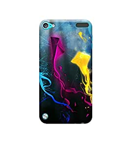 EPICCASE Premium Printed Back Case Cover With Full protection For Apple iPod Touch 5 (Designer Case)
