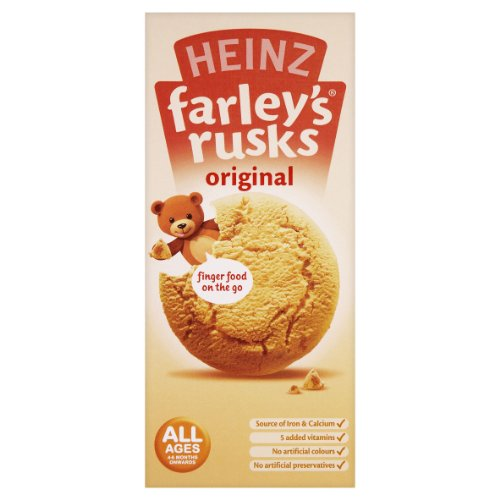 Heinz Farley Rusks, Biscuits For Baby'S & Toddlers, 5.3-Ounce Boxes (Pack Of 6) front-793614