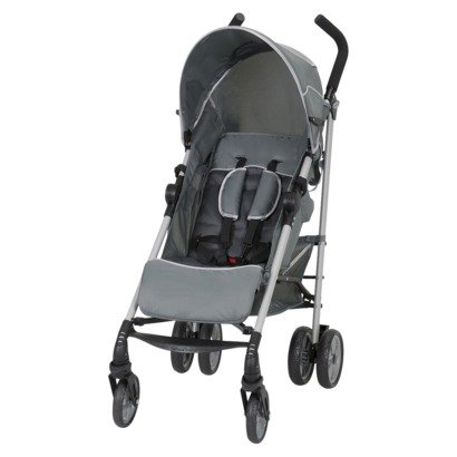 Baby Trend Euroride Stroller Compatible With Baby Trend Infant Car Seats Grey front-196800