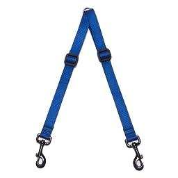 Max & Zoey 3/4-Inch Wide Walking Coupler, Medium, Royal Blue