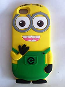 Green Minion Back Soft Silicone Case For Apple Iphone 6g