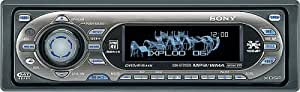 Sony CDXGT705 / CDX-GT705DX / CDX-GT705DX CD player with MP3/WMA playback
