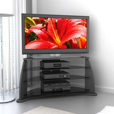 Cheap Sonax FP-4000 Fior 37″ – 52″ TV Stand in Black Lacquer (FP-4000)