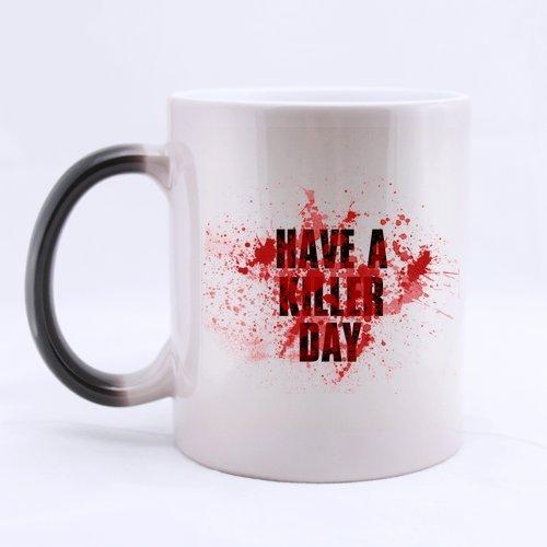 Best Funny hanno un Killer Day cartone tazza da caffè o tè Tazza, tazze materiale in ceramica, 325ml