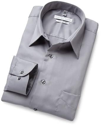 Geoffrey Beene Mens Printed Poplin Woven Shirt