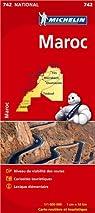 Carte NATIONAL Maroc par Michelin