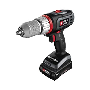 Porter-Cable PCL180DRK-2 18v Cordless Drill