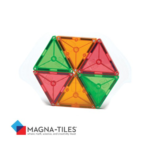 Magna-Tiles® Clear Colors 100 Big Discount