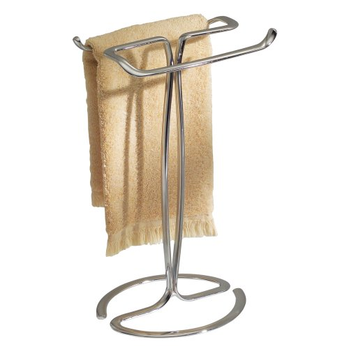 Decorative Bathroom Towel Storage : New countertop arm bar metal towel rack stand holder
