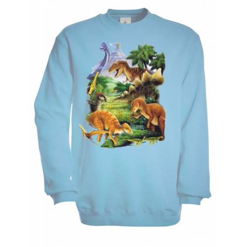 Ethno-Designs-Sweatshirt-Enfants-Dinosaurus