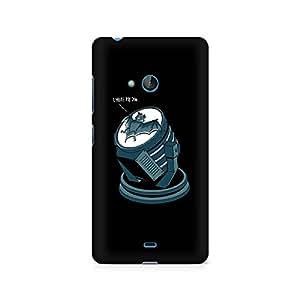 Ebby Bat Signal bat Premium Printed Case For Nokia Lumia 540