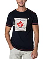 CANADIAN PEAK Camiseta Manga Corta Jaby (Azul Marino)