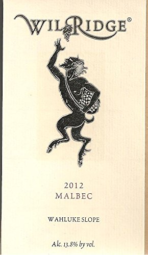 2012 Wilridge Winery Wahluke Slope Malbec 750 Ml