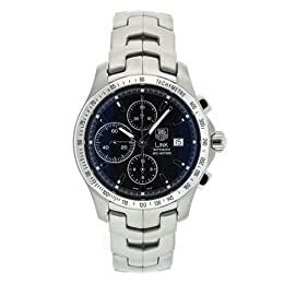 TAG Heuer Men s CJF2110 BA0594 Link Automatic Chronograph Watch