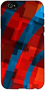 Snoogg Distorted Vibe 2405 Case Cover For Apple Iphone 6+ / 6 Plus