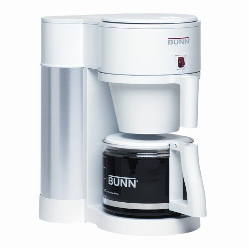 Bunn Nhbx-w Velocity Brew 10-cup Generation Coffee Maker, White