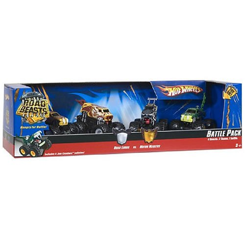 Hot Wheels Road Beasts Battle Pack - Buy Hot Wheels Road Beasts Battle Pack - Purchase Hot Wheels Road Beasts Battle Pack (hot wheels, Toys & Games,Categories,Play Vehicles,Vehicle Playsets)