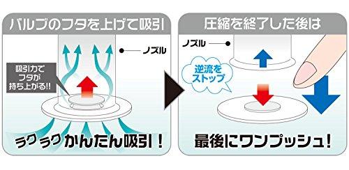 【オリエント】Q-PON!フラットバルブ ふとん圧縮袋2P オリエント