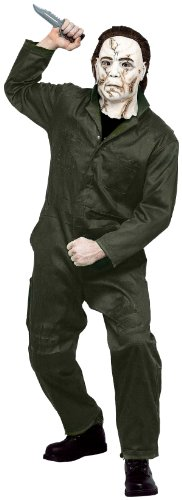 Paper Magic Men's Rob Zombie Halloween Adult Michael Myers Coveralls And Mask