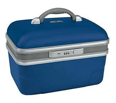 Savebag - Vanity rigide 34 cm - Capacité : 13 Litres - Bleu Métal