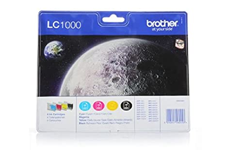 Brother DCP-550 CJ - Original Brother LC-1000 - Cartouche d'encre Multipack (BK,C,M,Y) 4 pieces -