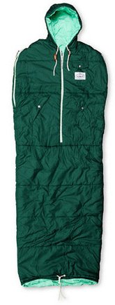 Poler Nap Sack Sleeping Bag Green Sz L