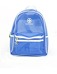 Shopaholic Silicone School Bag For Kids To Store Their Valuables (Dk Blue)