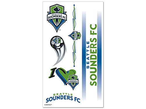 SOCCER Seattle Sounders Tattoos, Black