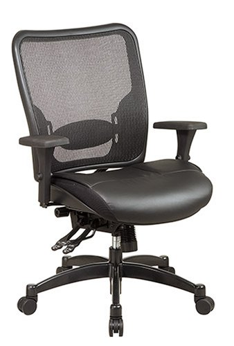 Office Star Space Matrex Back Leather Ergonomic Chair
