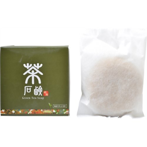 茶石鹸 80g Green Tea Soap