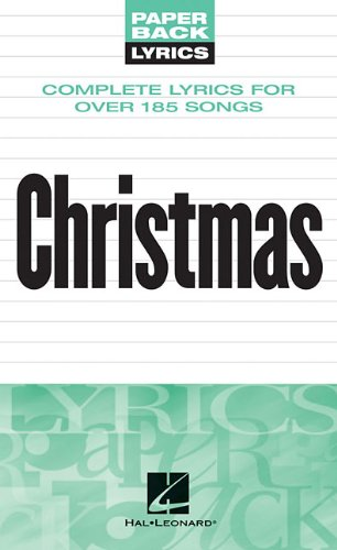 Christmas Lyrics: Paperback Lyrics
