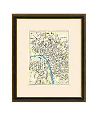 Antique Map of Nashville, 1883-1903