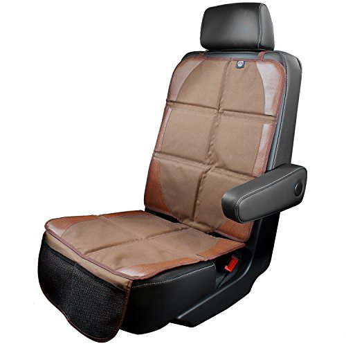 KHOMO GEAR - Baby Infant Car Seat Cover Protector - Brown (Brown Girl Seat Covers compare prices)