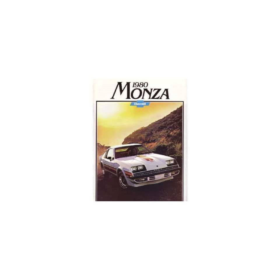 1980 Chevrolet Monza Sales Brochure Literature Book Options Specification