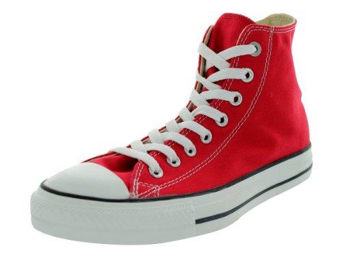 Converse Unisex Chuck Taylor Classic Hi Red Sneaker - 6 Men - 8 Women