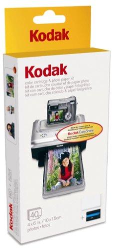 Kodak PH 40 EasyShare Printer Dock Color Cartridge Amp Photo Paper Refill Kit