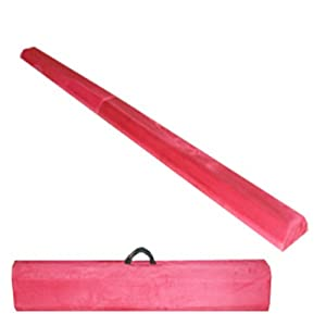 .com : The Beam Store Pink Folding Balance Beam (8-Feet) : Gymnastics