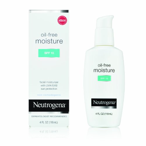 Neutrogena Oil-Free Moisture SPF 15 – 4.0 oz. [Personal Care] Reviews