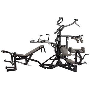 Amazon Com Body Solid Sbl460p4 Freeweight Leverage Gym