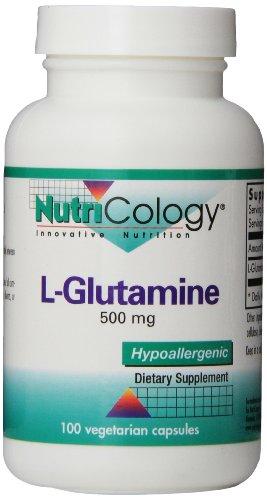 L-Glutamine 500 Mg 100 Vegetarian Caps