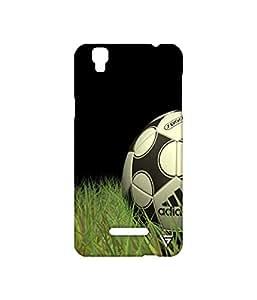 Vogueshell Football Printed Symmetry PRO Series Hard Back Case for YU Yureka