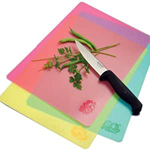 Norpro Cut-N-Slice Flexible Cutting Boards, Set of 3
