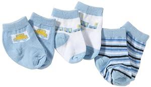 Playshoes - Calcetines para bebé, pack de 3
