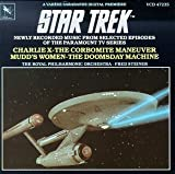 """echange, troc Alexander Courage, Fred Steiner, The Royal Philharmonic Orchestra - Star Trek: Newly Recorded from Selected Episodes """"Charlie X"""", """"The Corbomite Maneuver"""", """"Mudd's Women"""" and """"The Doomsday Machin"""
