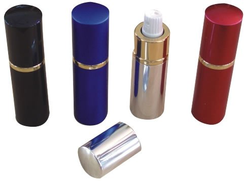 Lipstick Pepper Spray &#8211; Silver