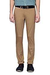 Allen Solly Men Comfort Fit Pants_AMTF514G00977_34_Khaki