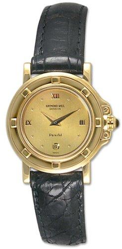 Raymond Weil Parsifal 18k Gold Womens Watch 10810-CH