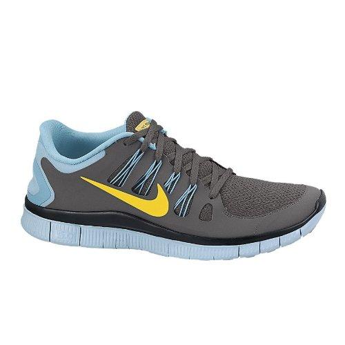 on sale d615d 11db1 Nike Free 5 0 Livestrong Men 579745 001 Dark grey varsity maize gamma blue  10