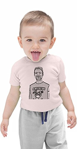 Frank Turner Illustration Organic Baby T-shirt Stylish Organic Baby T-shirt Fashion Fit Kids Printed Clothes by Genuine Fan Merchandise 6-12 Months